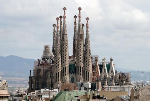 Basílica de la Sagrada Familia.