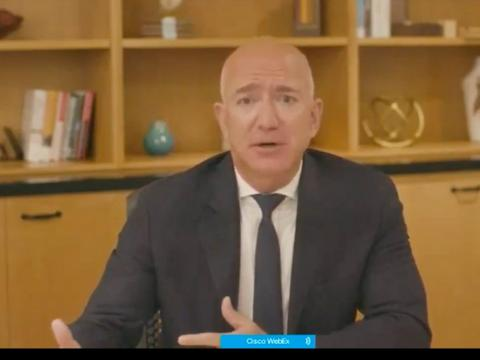 """Bezos faced tough questions about """"bullying, fear, and panic"""" that Amazon third-party sellers experienced apple google amazon facebook"""
