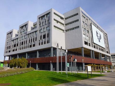 Biblioteca central del campus de Bizkaia de la UPV-EHU.