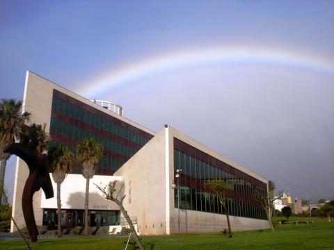 Biblioteca General y de Humanidades, en el Campus de Guajara, Universidad de La Laguna