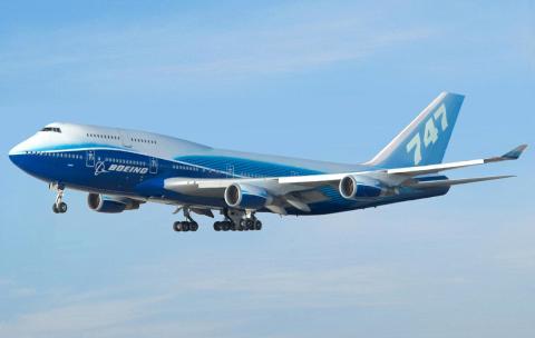 Un Boeing B747