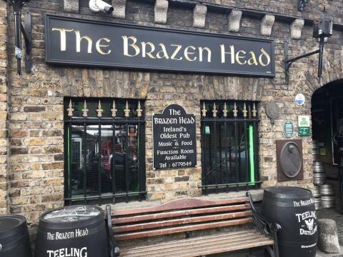 The Brazen Head en Dublin, Irlanda.