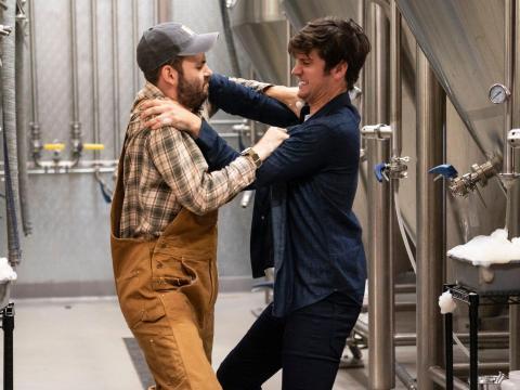 Alan Aisenberg y Mike Castle son coprotagonistas en 'Brews Brothers'.