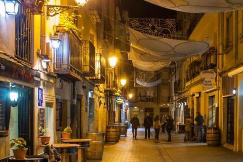 Calle del Laurel.