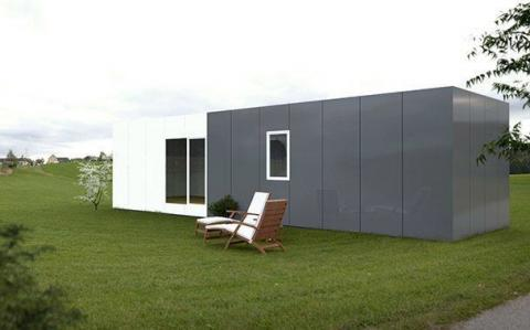 Casa prefabricada Modular Cube