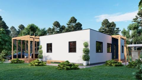 Casa prefabricada Norger Hus