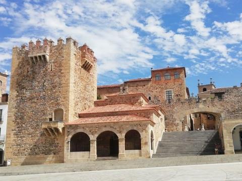 Casco Antiguo de Cáceres.