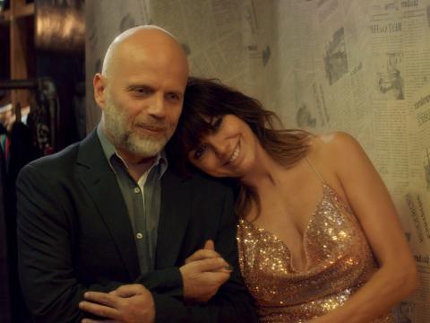 Sebastián Wainraich y Natalie Pérez en 'Casi feliz'.