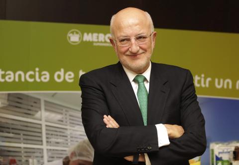 El CEO de Mercadona, Juan Roig.