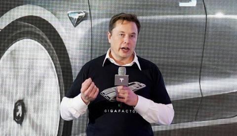 El CEO de Tesla, Elon Musk
