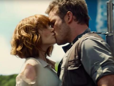 Bryce Dallas Howard y Chris Pratt interpretan a Claire y Owen en 'Jurassic World'.