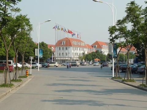 Ciudad inspirada en Suecia en China.
