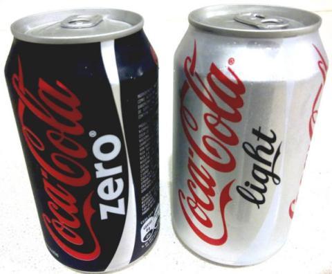 Coca Cola Light y Zero