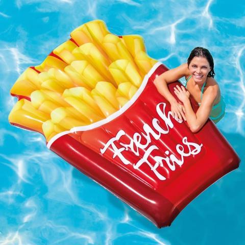 Colchoneta de patatas fritas
