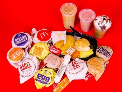 Desayuno del McDonald's.
