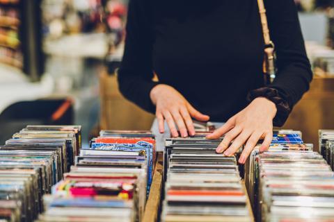 Compra discos segunda mano