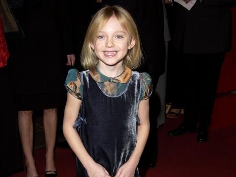 Dakota Fanning en 2002.