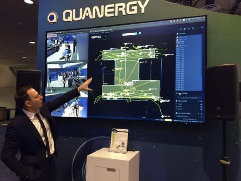 Una demostración de Quanergy en 2019.