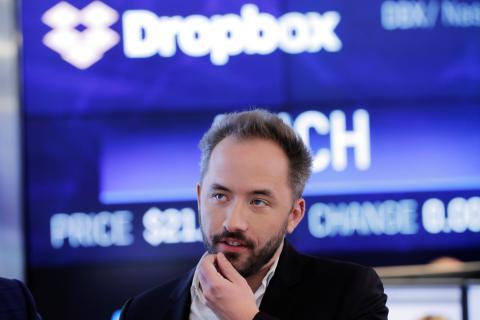 Drew Houston, cofundador y CEO de Dropbox