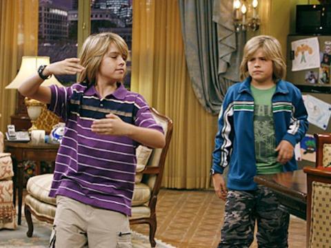 Dylan y Cole Sprouse en 'Las aventuras de Zack y Cody'.