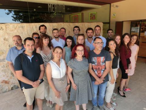 El equipo de Laminar Pharma