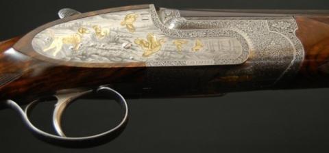 Escopeta Fabbri de Juan Carlos de Borbón.