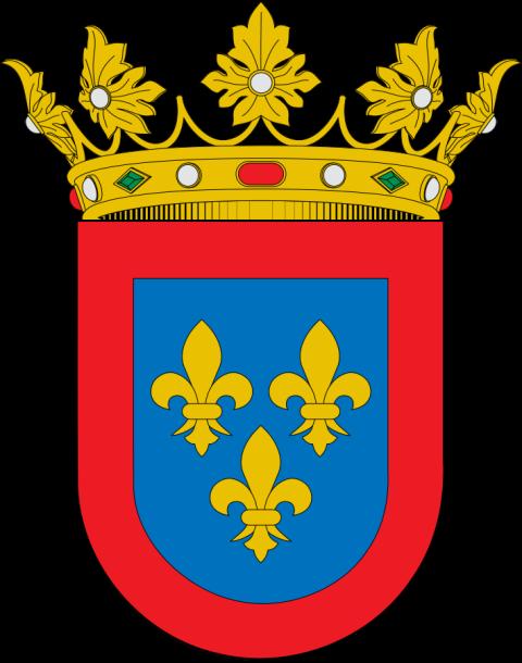 Escudo de los ducados creados para Borbones españoles