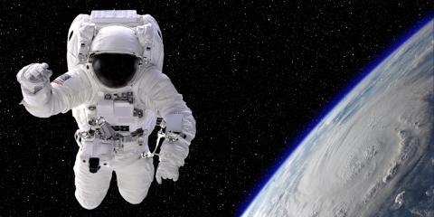 En el espacio sí hay gravedad.