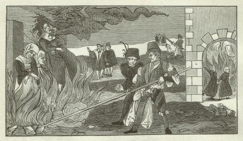 España no fue el país con más mujeres acusadas de brujería condenadas a la hoguera.