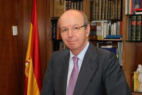 El exsecretario general y exjefe de la Casa Real durante el reinado de Juan Carlos I, Rafael Spottorno.