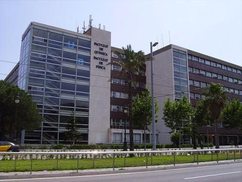 Facultad de Física y Química de la Universidad de Barcelona.