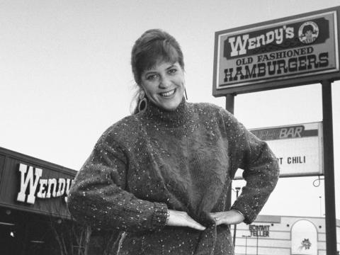 Wendy Morse, hija del fundador de Wendy's, Dave Thomas.