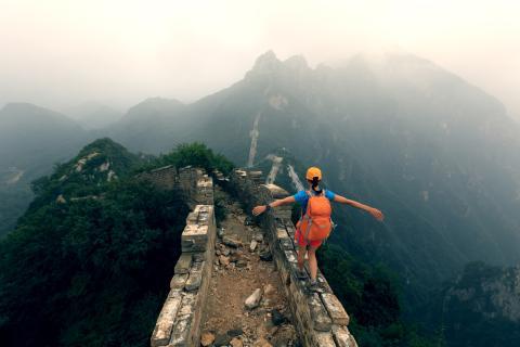 La Gran Muralla China no es la única estructura hecha por el hombre visible desde el espacio.