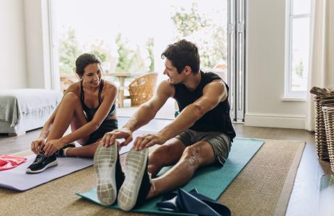 Hacer mucho ejercicio.