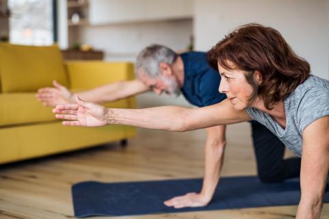Haz ejercicio constantemente.