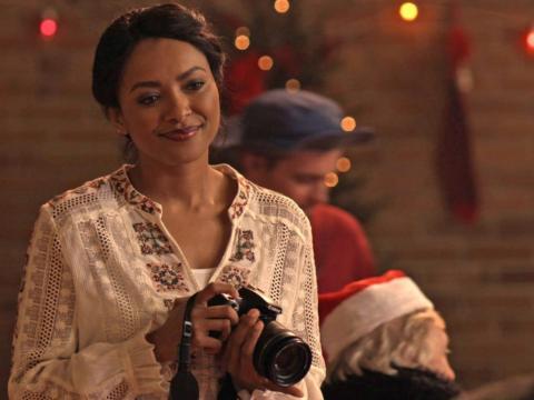 Kat Graham protagoniza 'El calendario de Navidad'