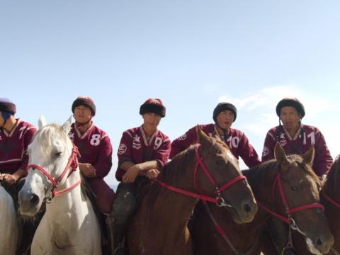 """The fifth episode of """"Home Game"""" is about the Kyrgyzstan sport Kok-Boru, which uses a dead goat as the ball."""