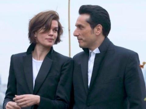Marie-Sophie Ferdane y Vincent Elbaz en 'No soy un hombre fácil'