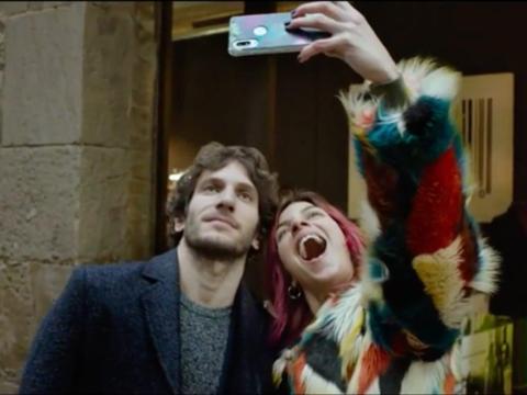 Quim Gutiérrez y Natalia Tena en 'Te quiero, imbecil'