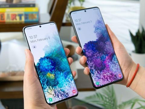 El Galaxy S20 y el Galaxy S20 Ultra.