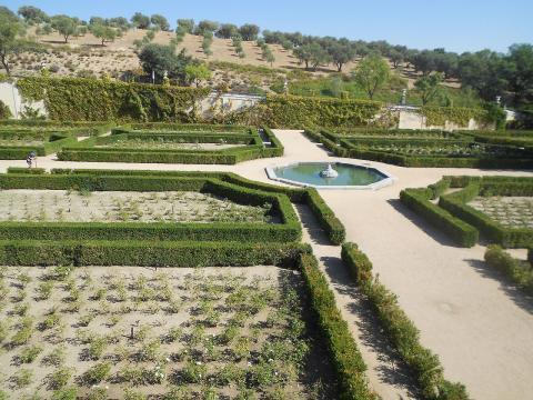 Jardines de la Zarzuela en El Pardo
