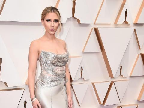 Scarlett Johansson en los Oscar.