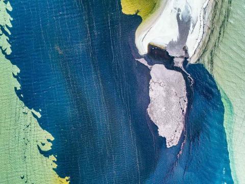 Una fotografía de Abstract Aerial Art.