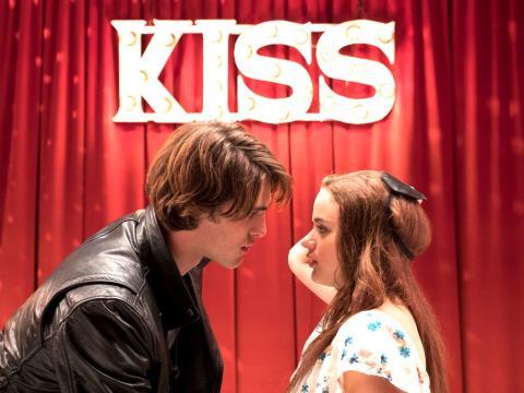 Jacob Elordi y Joey King en 'Mi primer beso'.