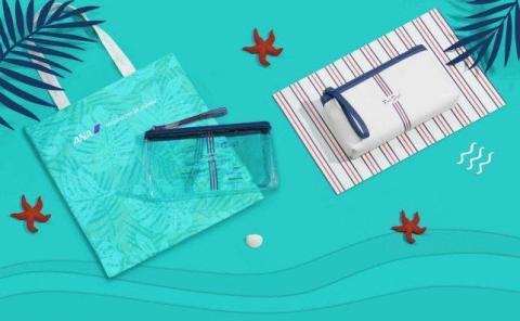 El kit de amenities de ANA están inspirados en Hawái
