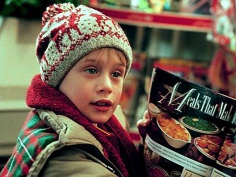 Macaulay Culkin en 'Solo en casa'.