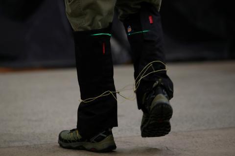 Material kevlar para uso militar