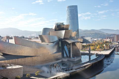 Museo Guggenheim Bilbao.