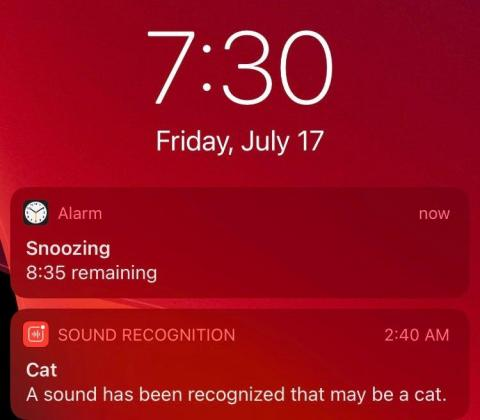 My iPhone can tell me if the doorbell is ringing or if my cat is meowing.