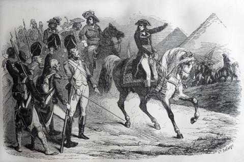Napoleón Bonaparte no era tan bajito.